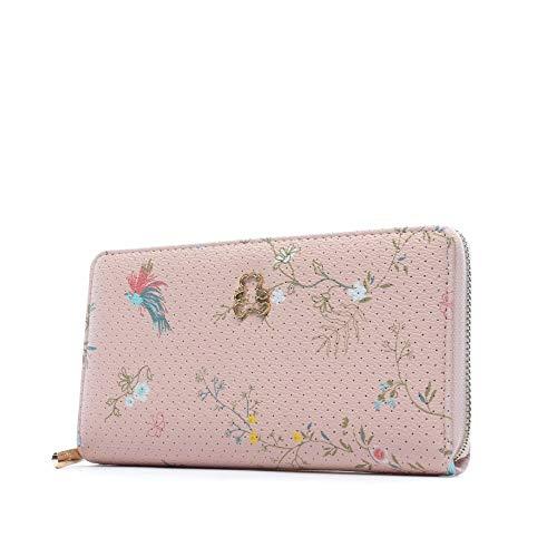 Lulu Castagnette Laena Geldbörse, Hellrosa, Rosa (Pink) - 43181_284977