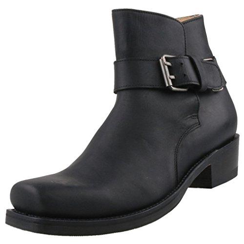 Sendra Herren Stiefeletten 10730 Schwarz, Schuhgröße:EUR 45