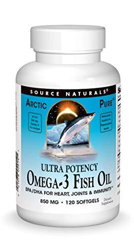 Source Naturals ArcticPure Ultra Potency 850 mg Omega-3 Fish Oil - 120 Softgels