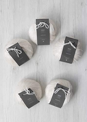 DHG Ovillos de mezcla de lana Hokusai 500 g (5 x 100...