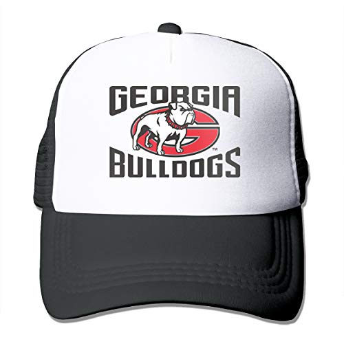 georgia bulldog flat bill hat - 5