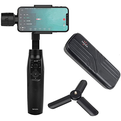 Moza mini-mi 3-axis Handheld Gimbal stabilizzatore per smartphone Iphonex/8/7/7PLUS/6/6Plus, Samsung Galaxy S8+/S8/S7/S6/S5.Controllo di ricarica wireless verticale shooting panorama Mode