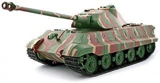 Heng Long 2.4Ghz 1/16 Scale Radio Remote Control German Porsche Turret KingTiger Tank Air Soft RC Battle Tank Smoke & Sound