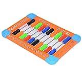 LifeBest 2 Piezas Color Aleatorio Plástico Ábaco Número de conteo de Fila Juguetes Niños Matemáticas Herramientas de conteo Educativo con Cuentas