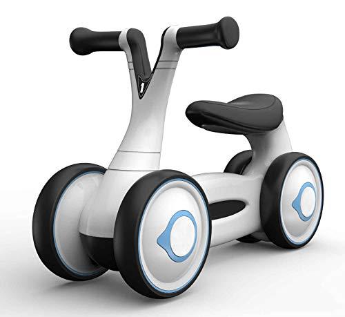 Babify Bicicleta sin Pedales de 1 a 5 años My First Bike - Triciclo Correpasillos. Color Black & White.