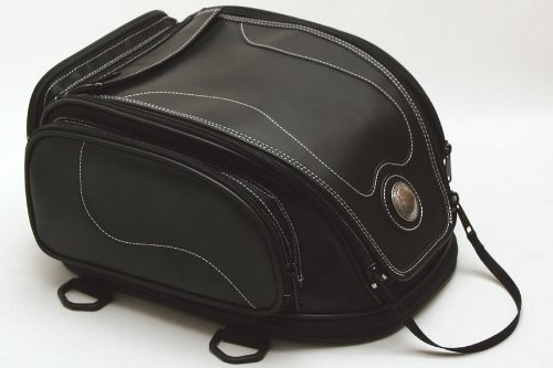 Best Price Degner nylon sheet bag plain PVC (synthetic leather), nylon 34x26x19 ~ 27cm Black NB-17