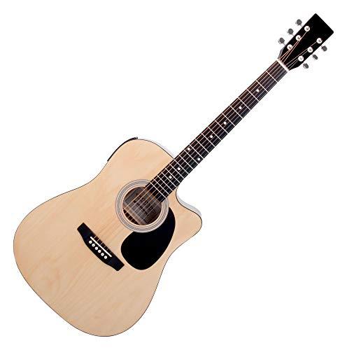 Classic Cantabile WS-10NAT-CE chitarra folk con Pickup naturale