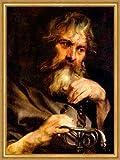 Kunstdruck Der Apostel Paulus geschaffen von Antoon Van Dyck Jünger St. LW Sankt A2 0024