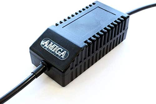 Amiga 500 PSU Modern Black Replacement Power Tampa Mall safety Supp US -