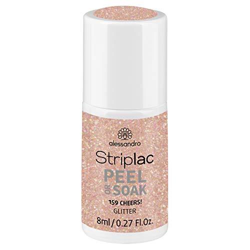 alessandro Striplac Peel or Soak Cheers! - LED-Nagellack in Nude - Für perfekte Nägel in 15 Minuten, 8 ml