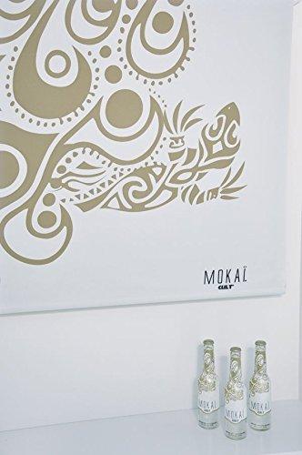 Debel Rollo Verdunklungs-Rollos für Fenster blickdicht bedruckt Kettenzug mit Muster beige Größe 140x175cm