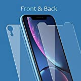 JingooBon Screen Protector for iPhone XR Front and...