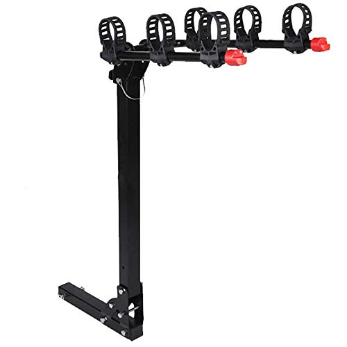 MICEROSHE Bastidores de portabicicletas Bicicleta Plegable portadores de Bicicletas Carrier Portador de...