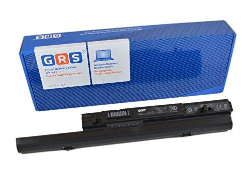 GRS Batterie avec 6600mAh pour Dell Studio XPS 1645, 16, remplacé : 312-0814, U011C, W298C, X411C, 312-0815, 451-10692,W303C, Laptop Batterie 6600mAh, 11.1V/ 73Wh