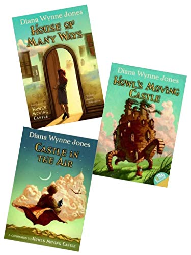 Complete World of Howl Collection: Howl's Moving Castle, House of Many Ways, Castle in the Air ( 1- 3 )