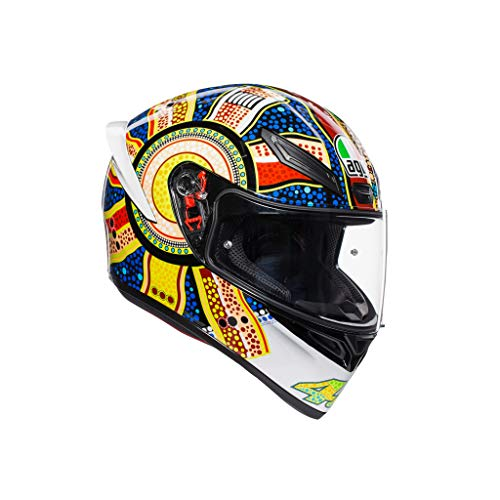 AGV Casco Moto Integrale K1 Agv E2205 Top, Dreamtime, Taglia MS