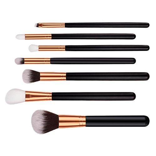MERIGLARE 7x Set Pinceaux Maquillage Cosmétique Professionnel Brosse De Beauté Makeup