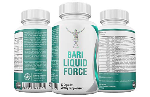 Bariatric Liquid Force Multivitamin - Complete Post Bariatric Iron and 42 Super Fruits and...