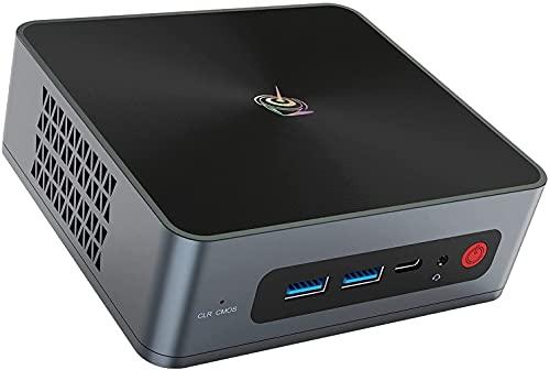 4 Cores 8th gen Intel i5-8279U(Up to 4.1GHz), Beelink SEI8 Mini PC Windows 10 Pro, 8G RAM 256G NVMe M.2 SSD, Support 4K Dual HDMI, Gigabit Ethernet, WiFi-6, BT5.0, 4USB3.0