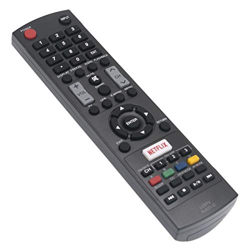 New GJ221-C Remote Control fit for Sharp LCD AQUOS AQOS TV 32LE653U 40LE653U LC-32LE653U LC-40LE653U LC-43LE653U LC-48LE551U LC-48LE653U LC-55LE653U LC-65LE645U LC-65LE653U LC-65LE654U GJ221C