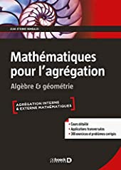 Mathématiques pour l'agrégation de JEAN-ÉTIENNE ROMBALDI
