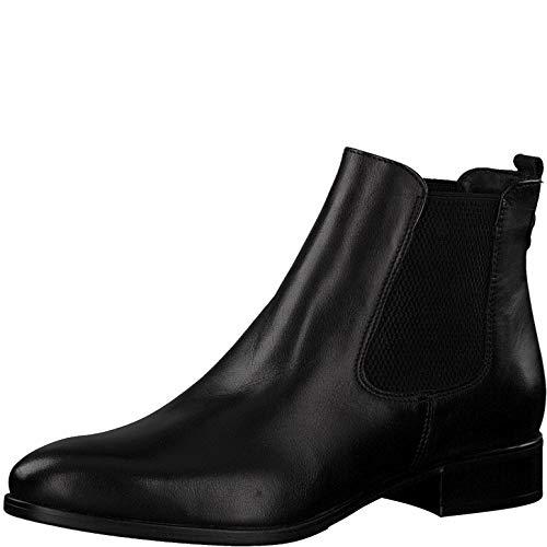 Tamaris Damen Stiefeletten 75388-23, Frauen Chelsea Boots, Bootie Schlupfstiefel flach weibliche...