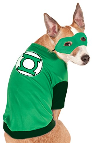 Rubie's Costume DC Heroes and Villains Collection Pet Costume-Green Lantern