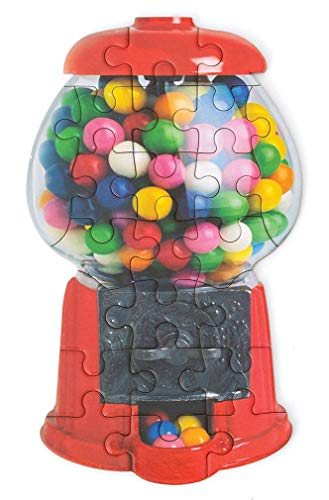 Playhouse Scratch amp Sniff Gumball Machine 23Piece DieCut Shaped Mini Puzzle for Kids