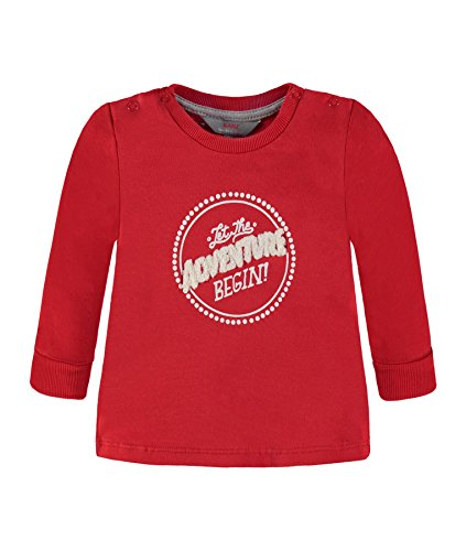 Kanz T-Shirt 1/1 Arm 1832433, Rosso (Chinese Red 2000), 68 Bambino