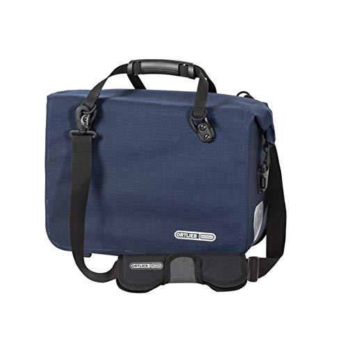 Ortlieb Unisex-Adult Office-Bag QL2.1 Einzeltasche Radtaschen, stahlblau Cordura 21 l, One Size