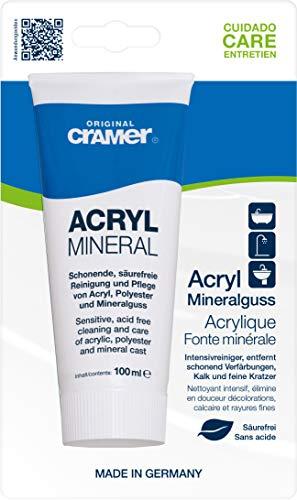 Reinigungspaste/Polierpaste für Acryl-Oberflächen