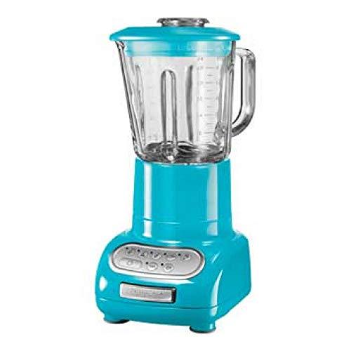 Kitchenaid LICUADORA Artisan 5KSB5553ECL, 550 W, 1.5 litros, Acero Inoxidable, azul