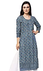 Amayra Womens Cotton Straight Kurti
