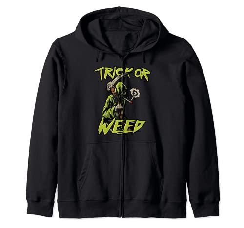 Trick or Weed Grim Reaper Sensenmann...