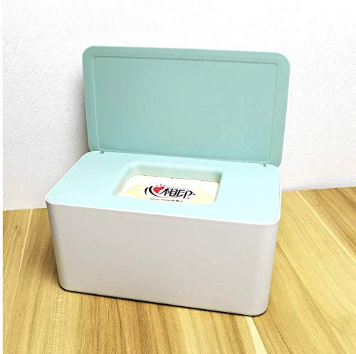 Outdoor Travel Wet Paper Towel Contenedor Eco-Friendly Clutch and Clean Wipes for Baby Skin Care Paper Storage Box Holder