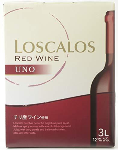 ロスカロス ウーノ 赤 3L バッグインボックス [ 赤ワイン ミディアムライト 日本 3000ml ]
