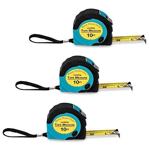 powerful Where is my tape measure?  – Retractable 10-foot measure tape (3 bags)…