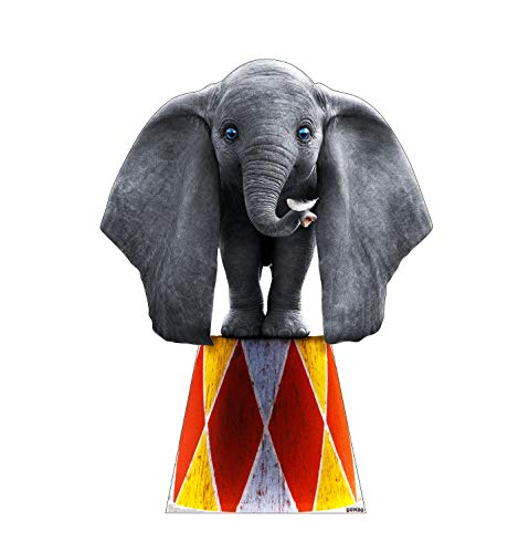 Advanced Graphics Dumbo Life Size Cardboard Cutout Standup - Disney's Dumbo (2019 Live Action Film)