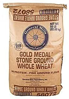 General Mills GM Whole Wheat Stone Ground 50lb