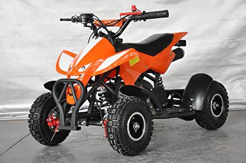 Mini quad per bambini Raptor/Mini quad per bambini da 3 a 8 anni/Motore 49cc 2 tempi (ORANGE)
