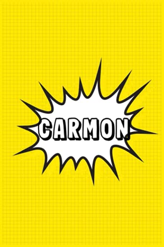 Carmon: Personalized Name Carmon Notebook, Gift for Carmon,