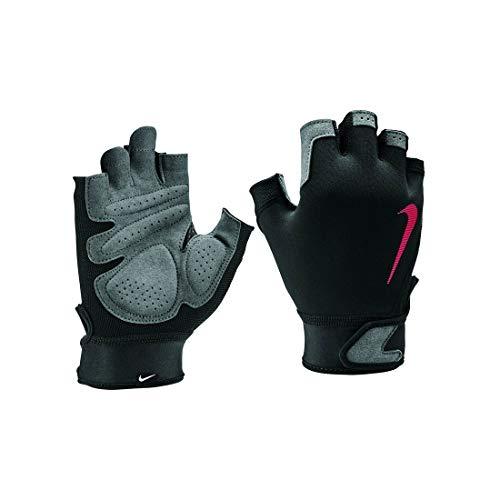 Nike Gants de Fitness pour Homme S Ultimate, Homme, N.LG.C2.074.XL, Black/lt Crimson/lt c, XL