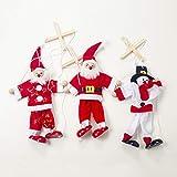 fublousRR5 Christmas Marionette, Christmas Santa Claus Puppet Marionette Doll Kids Children Toy Xmas Decoration 1