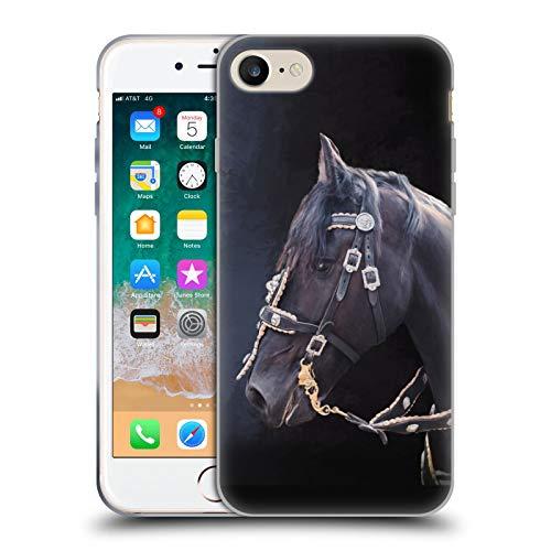 Head Hülle Designs Offiziell Zugelassen Simone Gatterwe Friesisches Pferd Pegasus Und Einhoerner Soft Gel Handyhülle Hülle Huelle kompatibel mit Apple iPhone 7 / iPhone 8 / iPhone SE 2020
