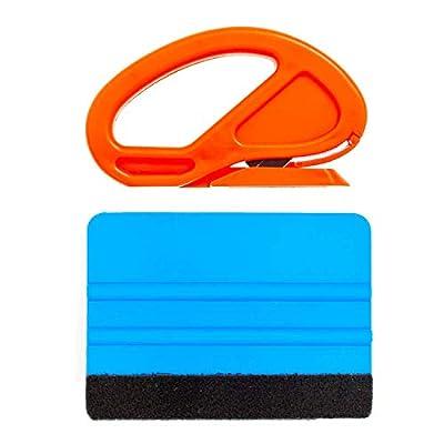 M-PENG l'application teinte de film pour fenêtre de véhicule outils raclettes emballage vinyle outils pour l'habillage de véhicules les vitres teintées