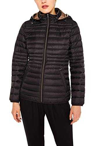 ESPRIT Damen 079Ee1G001 Jacke| Schwarz (Black 001)| X Small (Herstellergröße: XS)