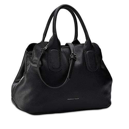 MARCO TOZZI Damen Handtasche 2-2-61022-25, BLACK, 1 EU