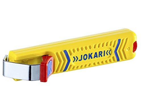 JOKARI®original Kabelmesser Secura Nr.27, zum Abisolieren von Rundkabel (z.B.NYM/NYY) 8 bis 28mm Ø, Art.Nr.10270