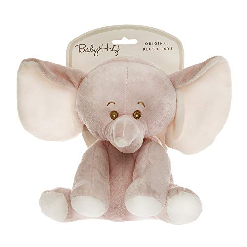 HUG ME 3830047237797 Elefant Kuscheltier, Rosa