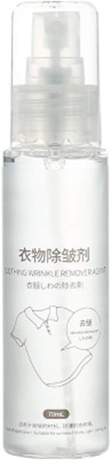 NYDG Spray antiarrugas para ropa de enfermería, suavizante de liberación de arrugas, ambientador de tela sin planchado